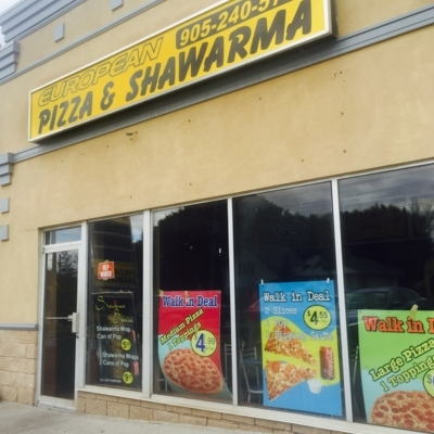 European Pizza & Shawarma - Middle Eastern Restaurants - 905-240-5700