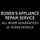 Bowen's Appliance Repair Service - Logo