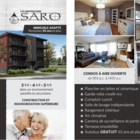 Les Constructions Saro Inc - Real Estate Management - 514-796-1212