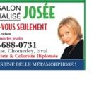 Salon Personnalisé Josée - Coiffure africaine - 450-688-0731