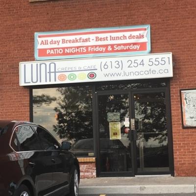 Luna Crepes And Cafe - Restaurants - 613-254-5551