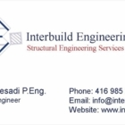 Interbuild Engineering Inc - Structural Engineers - 416-985-2647