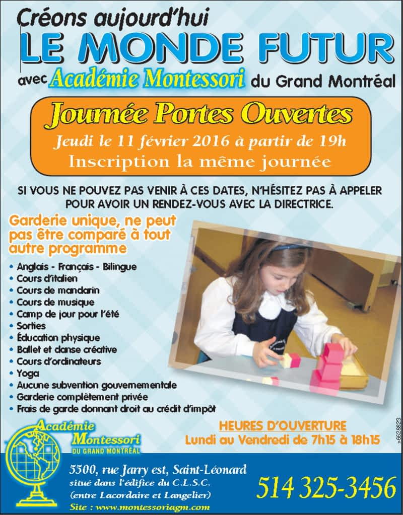photo Academie Montessori De Grand Montreal