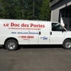 Le Doc Des Portes - Portes de garage - 418-990-0869