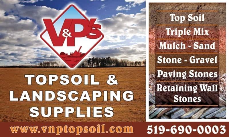 photo V&P's Topsoil and Landscape Supplies