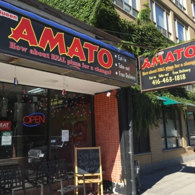 Amato Pizza - Pizza et pizzérias - 416-977-8989