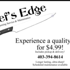 Chef's Edge - Service d'aiguisage