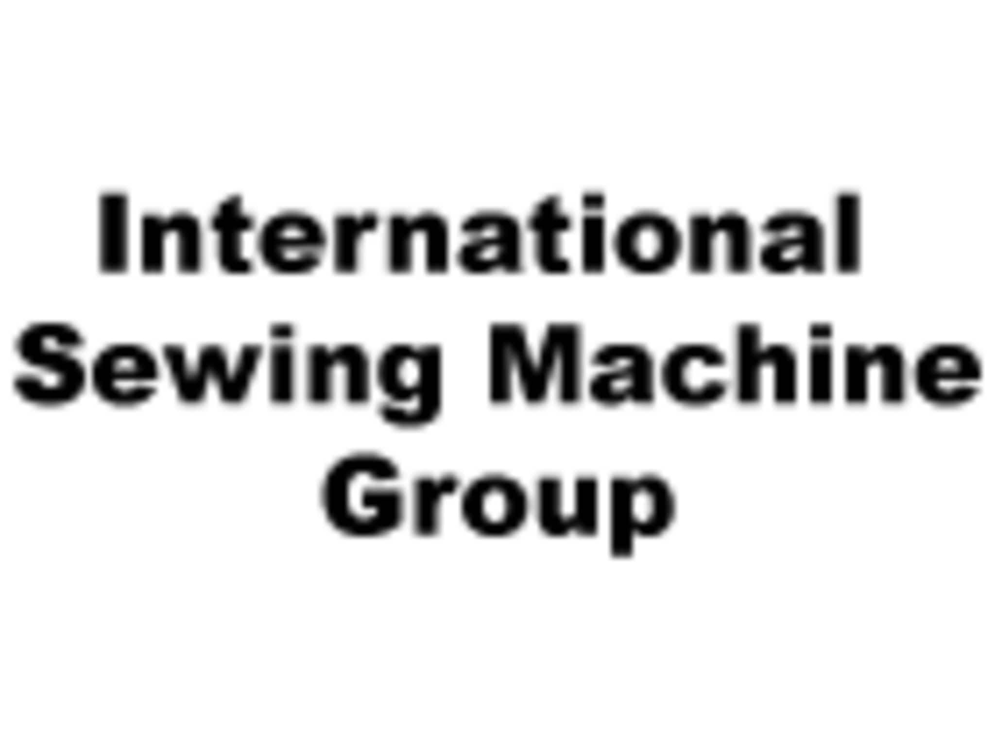 photo International Sewing Machine Group