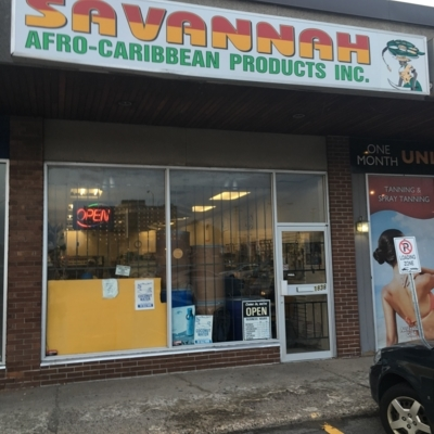 Savannah Afro Caribbean Products Inc - Grocery Stores - 613-731-7878