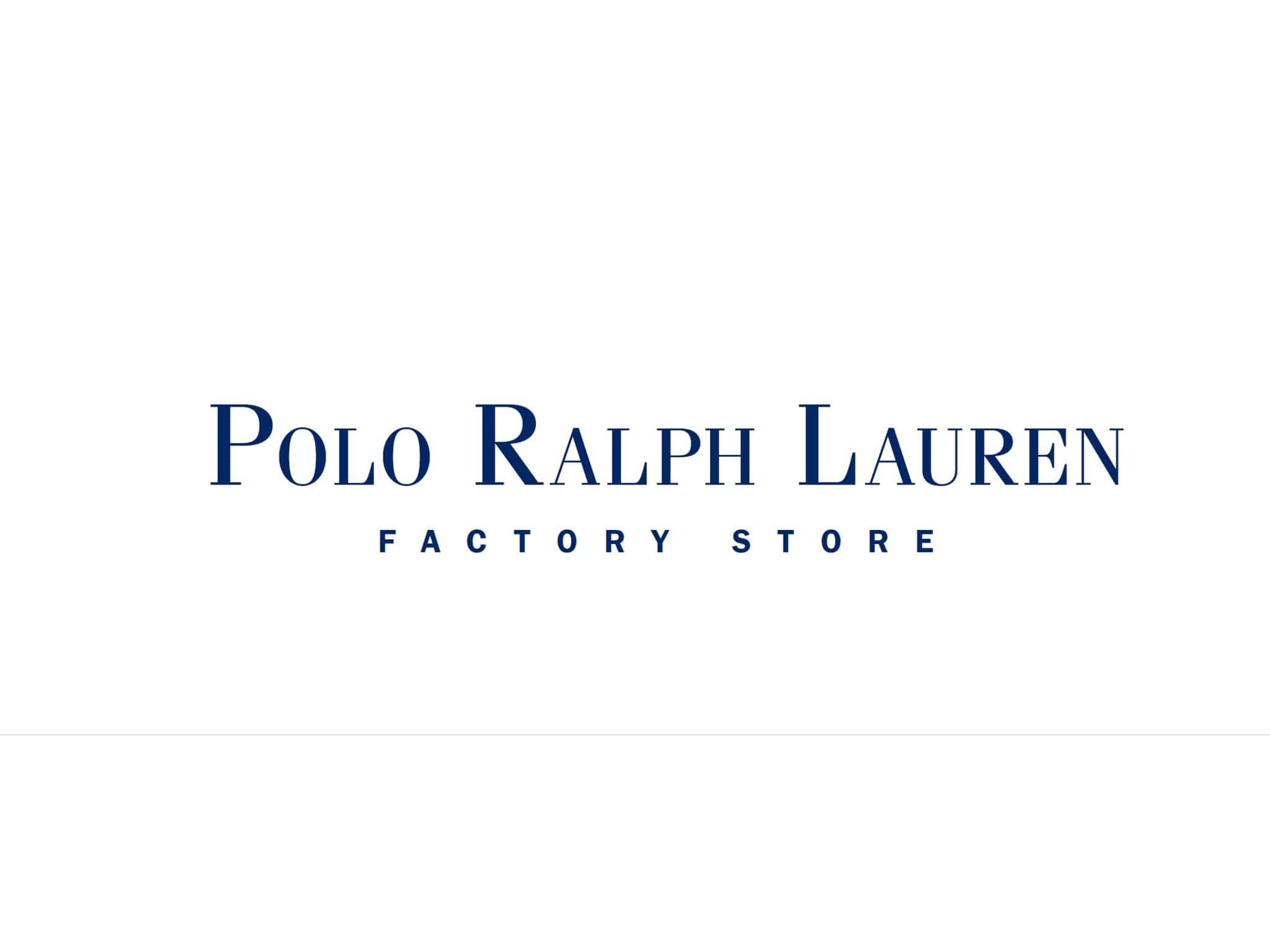 photo Polo Ralph Lauren Factory Store