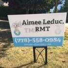 Aimee Leduc RMT - Registered Massage Therapists - 778-558-0984