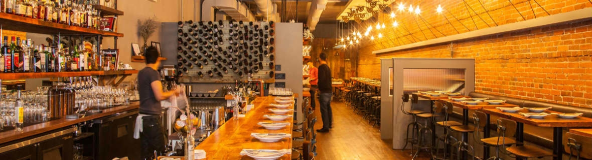 Wow-worthy Vancouver restaurant interiors