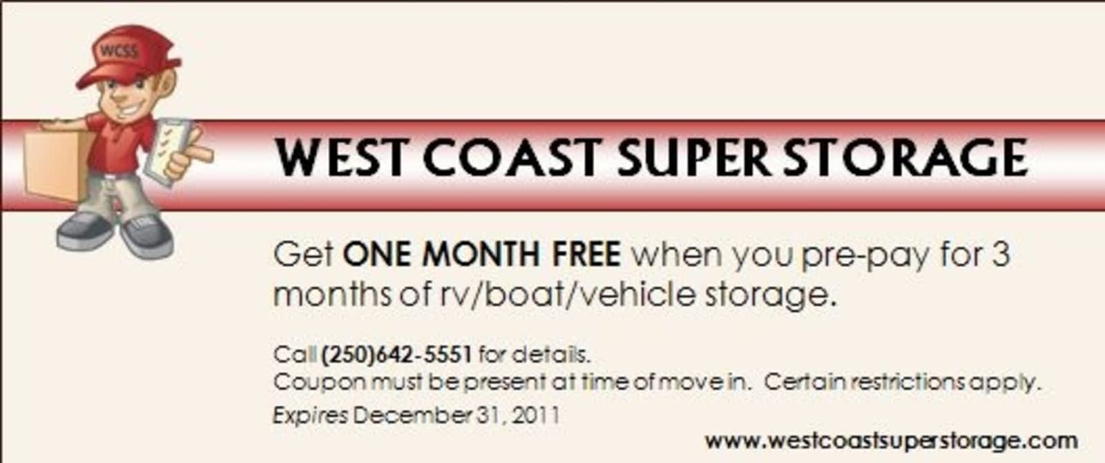 West Coast Super Storage Ltd   Opening Hours   3220 Otter Point Rd, Sooke,  BC