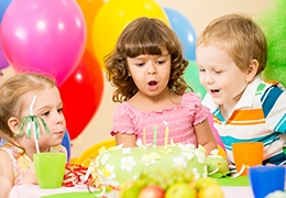 Fun birthday party places for kids in Montreal
