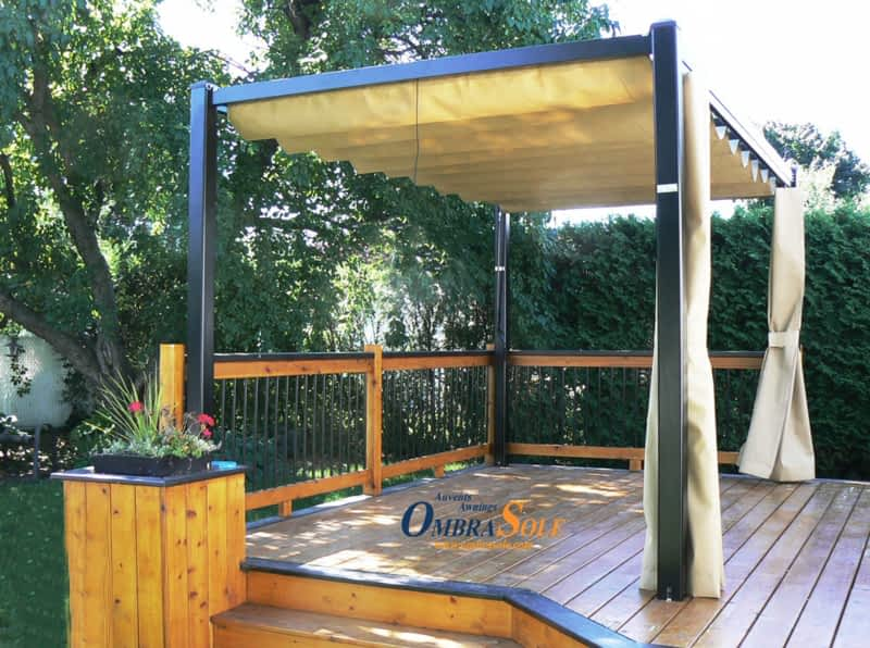 Auvents Ombrasole Awnings Montr 233 Al Qc 8460 Rue Pascal