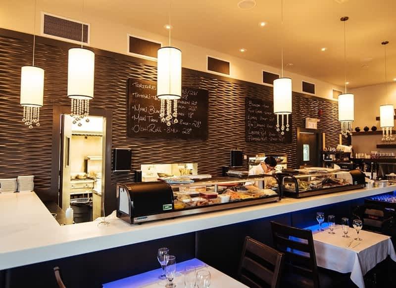 photo Caviar Sushi