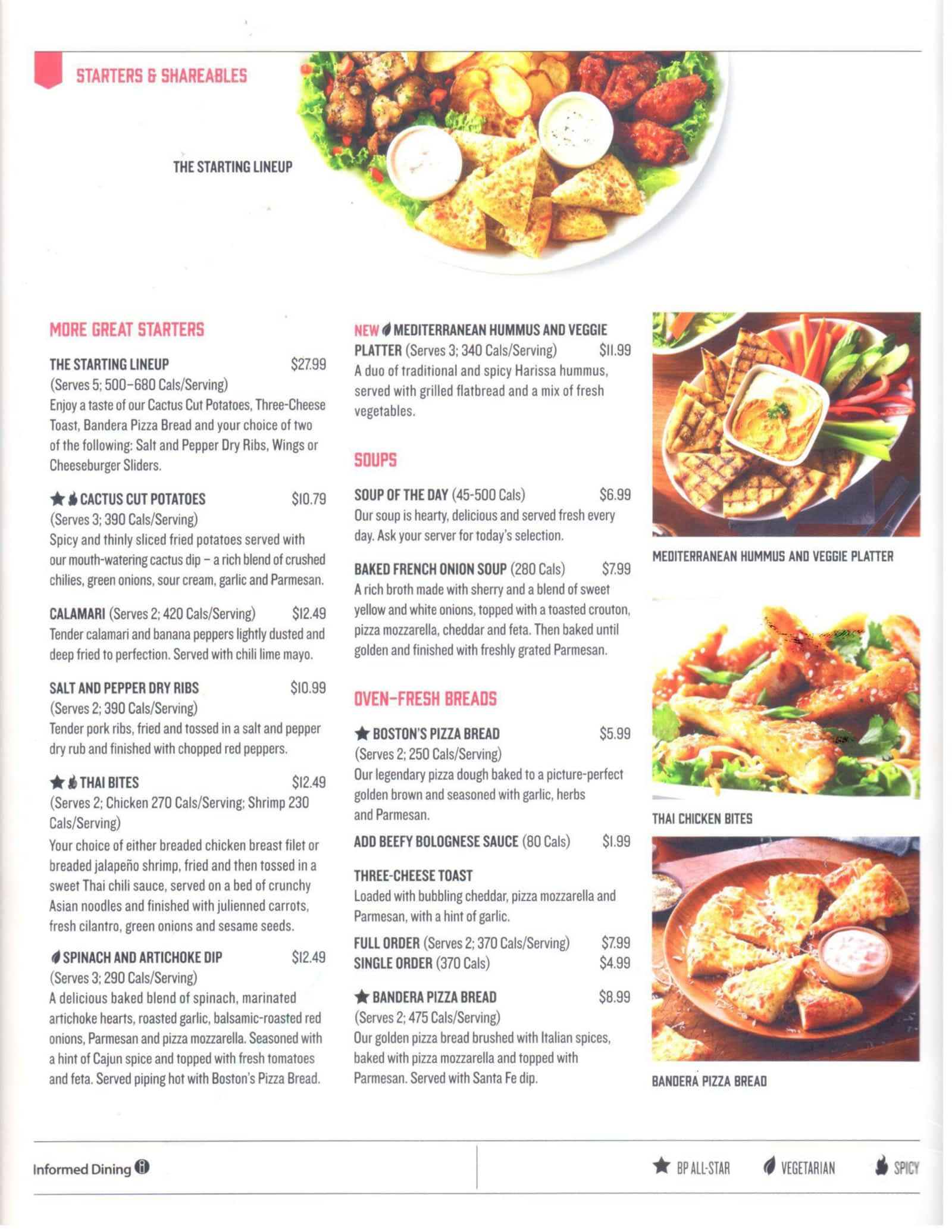 Boston Pizza - Menu, Hours & Prices - 227 Dundas St E, Trenton, ON