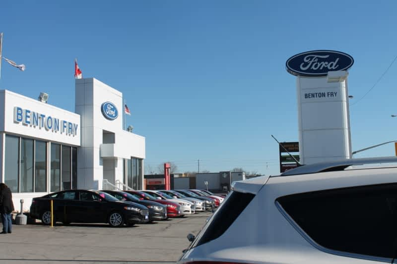 Benton Fry Ford Belleville On 321 Front St N Canpages