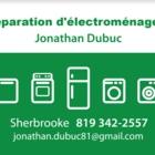 Réparation d'électroménagers Jonathan Dubuc - Réparation d'appareils électroménagers