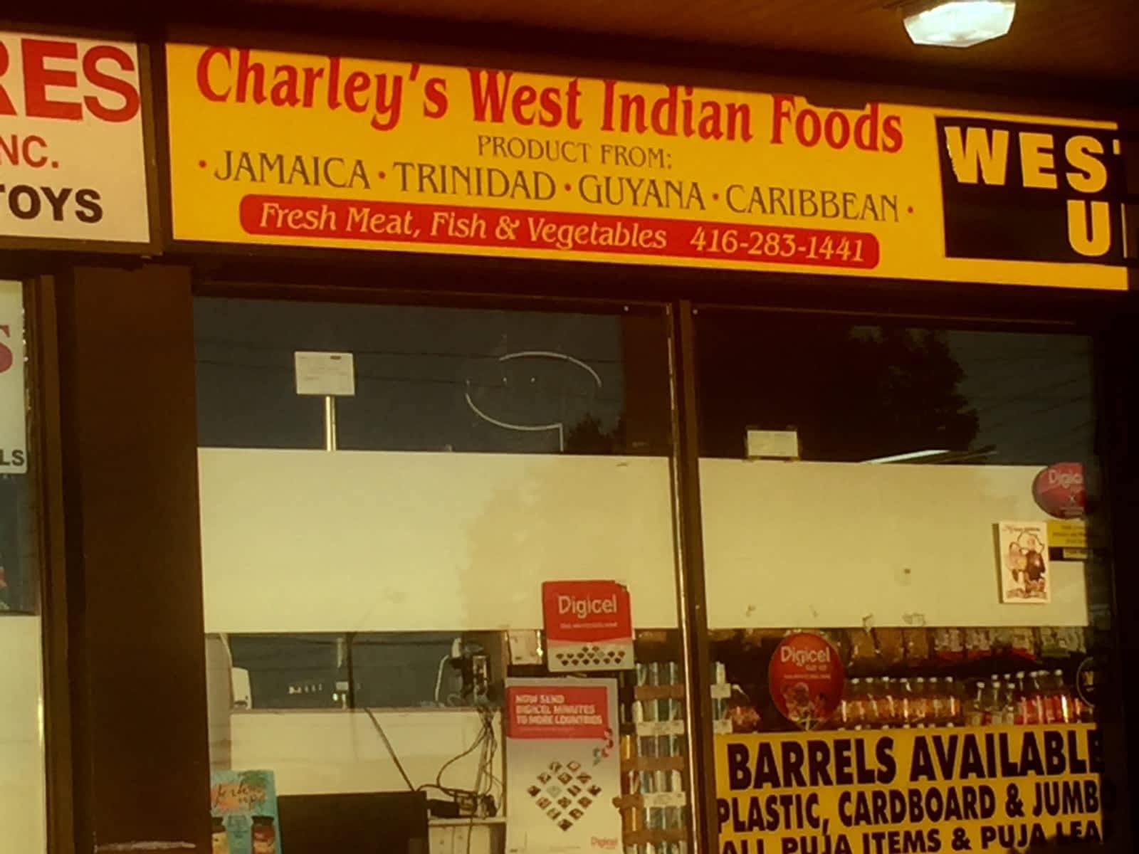 Charleys West Indian Foods - Opening Hours - 1154 Morningside Ave