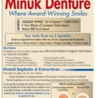 Minuk Denture Clinic & Dental Implant Centre - Traitement de blanchiment des dents - 204-589-6329