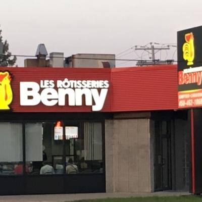 Les Rôtisseries Benny - Poisson et frites - 450-462-1060