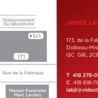 Laboratoire Dentaire Josée Lessard - Dentistes - 418-276-0104