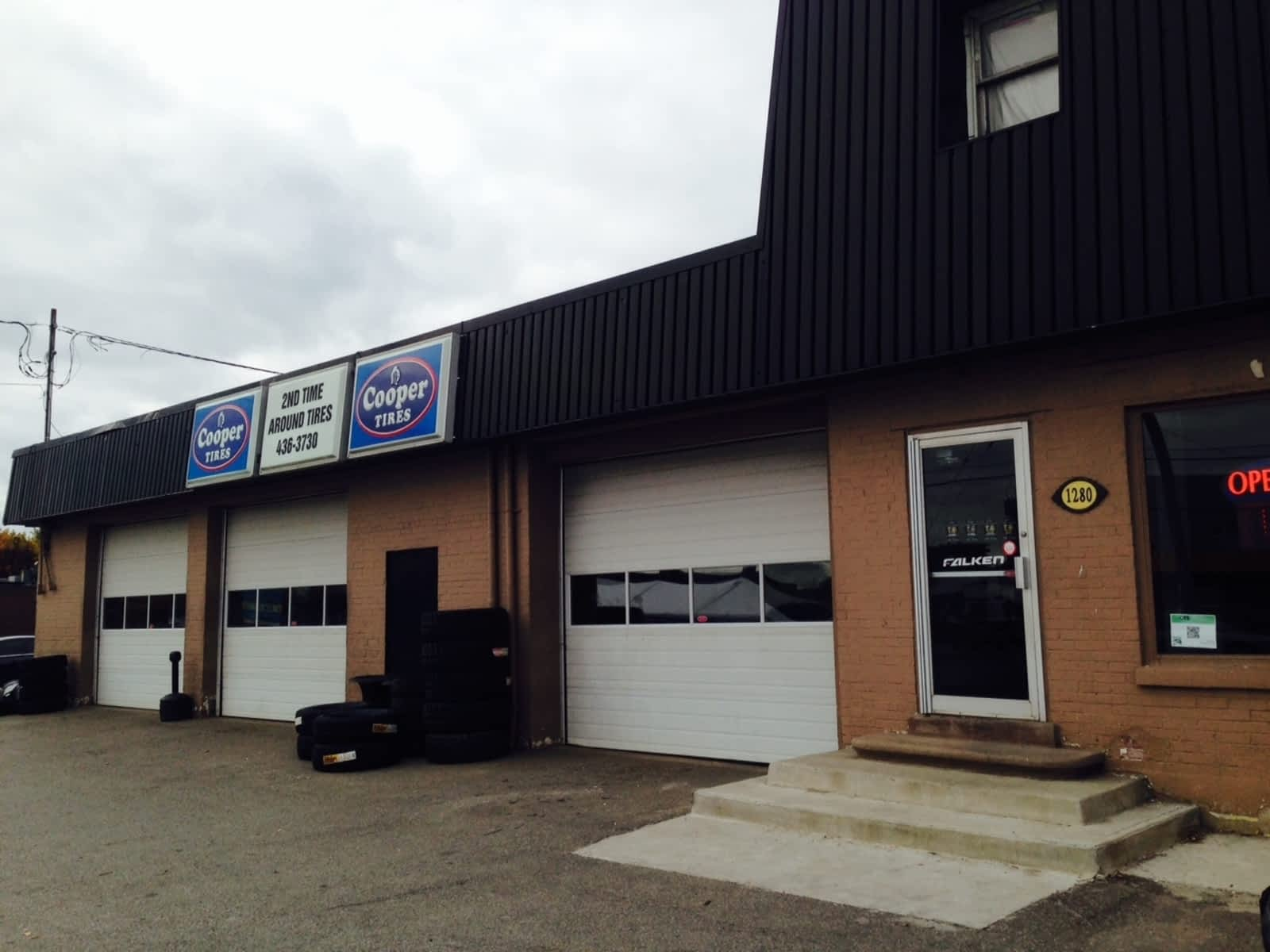 Used Tires Oshawa >> Second Time Around Tire Sales Opening Hours 1280 Simcoe