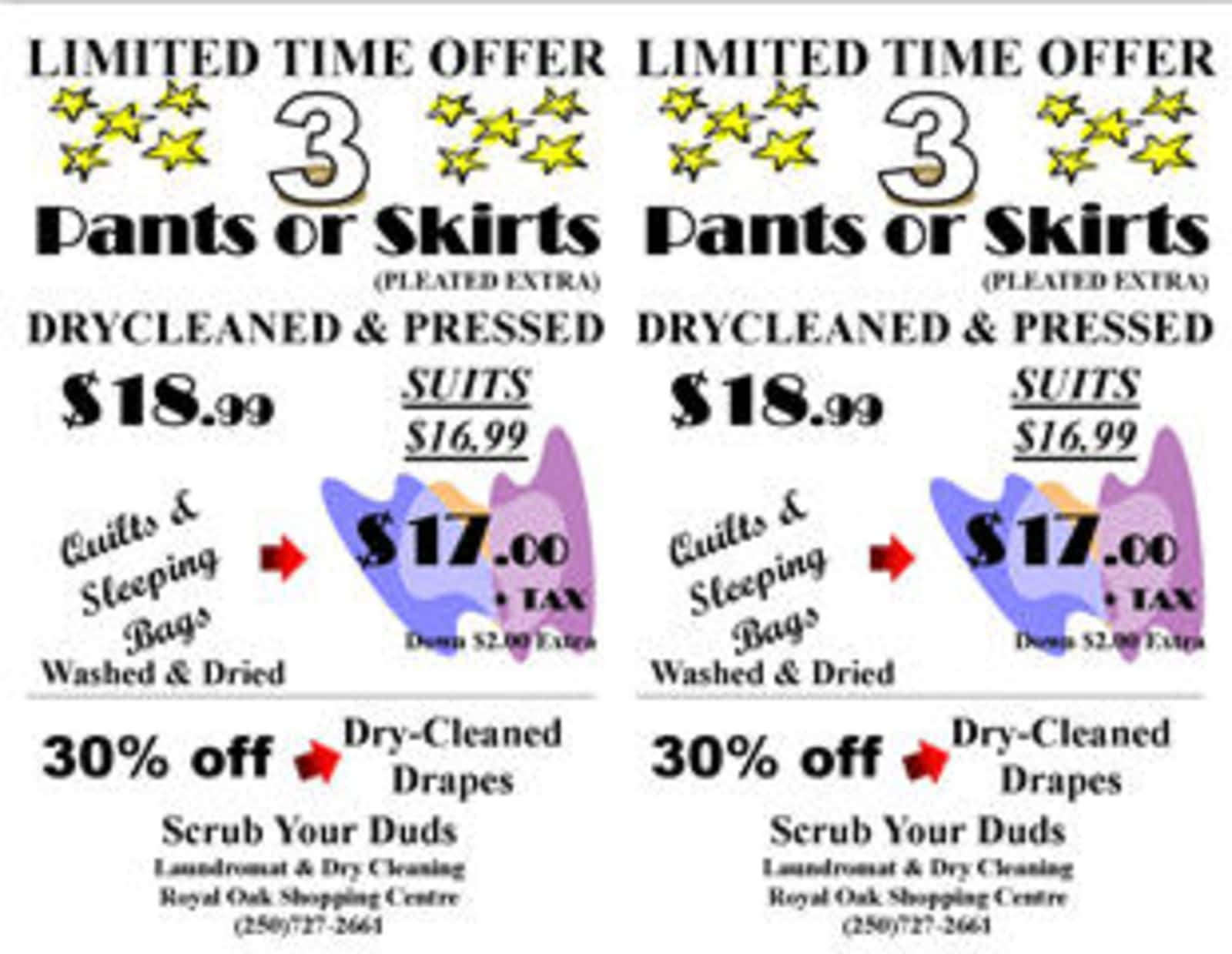 Scrub Your Duds Opening Hours 106 4480 West Saanich Rd Victoria Bc