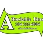 Affordable Bins - Residential Garbage Collection - 204-222-6004