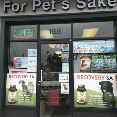 For Pet's Sake - Pet Food & Supply Stores