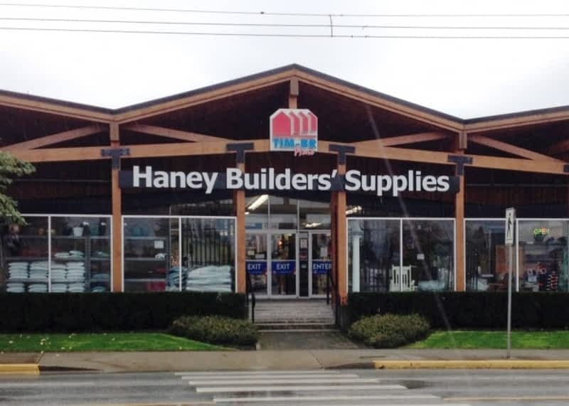 Haney Builders Supplies 1971 Ltd Maple Ridge Bc 22740