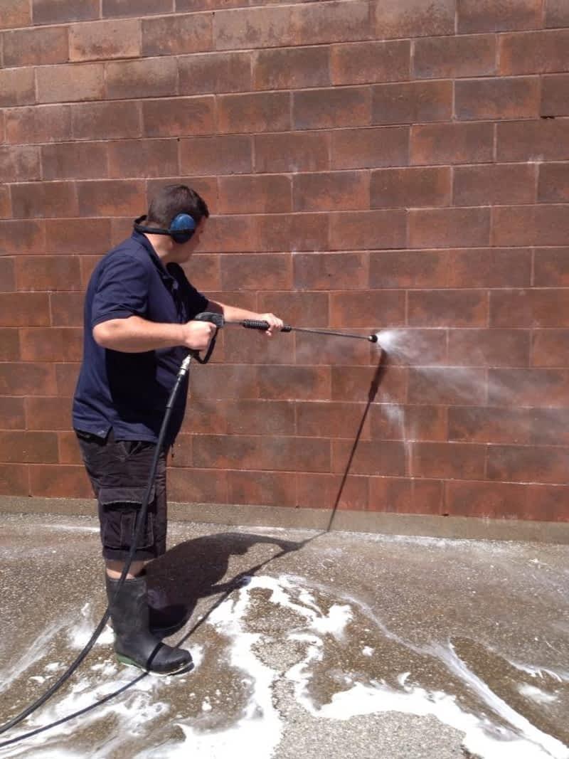 Brandon Hahn S Power Washing Cambridge On 170 Weaver