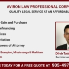 Aviron Law Professional Corporation - Real Estate Lawyers