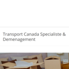 Transport Canada Specialiste & Demenagement - Logo