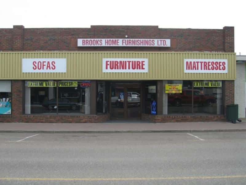 Brooks Home Furnishings Brooks Ab 124 1 St W Canpages