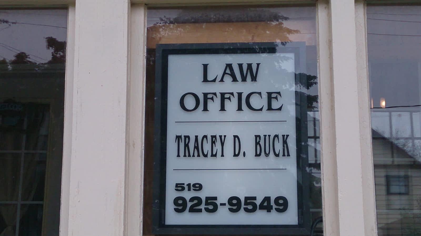 tracey buck