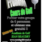 Académie de golf Jean Beaudry - 514-690-7373