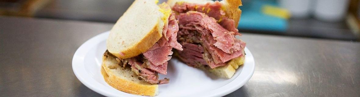 Top Montreal smoked meat sandwich restaurants