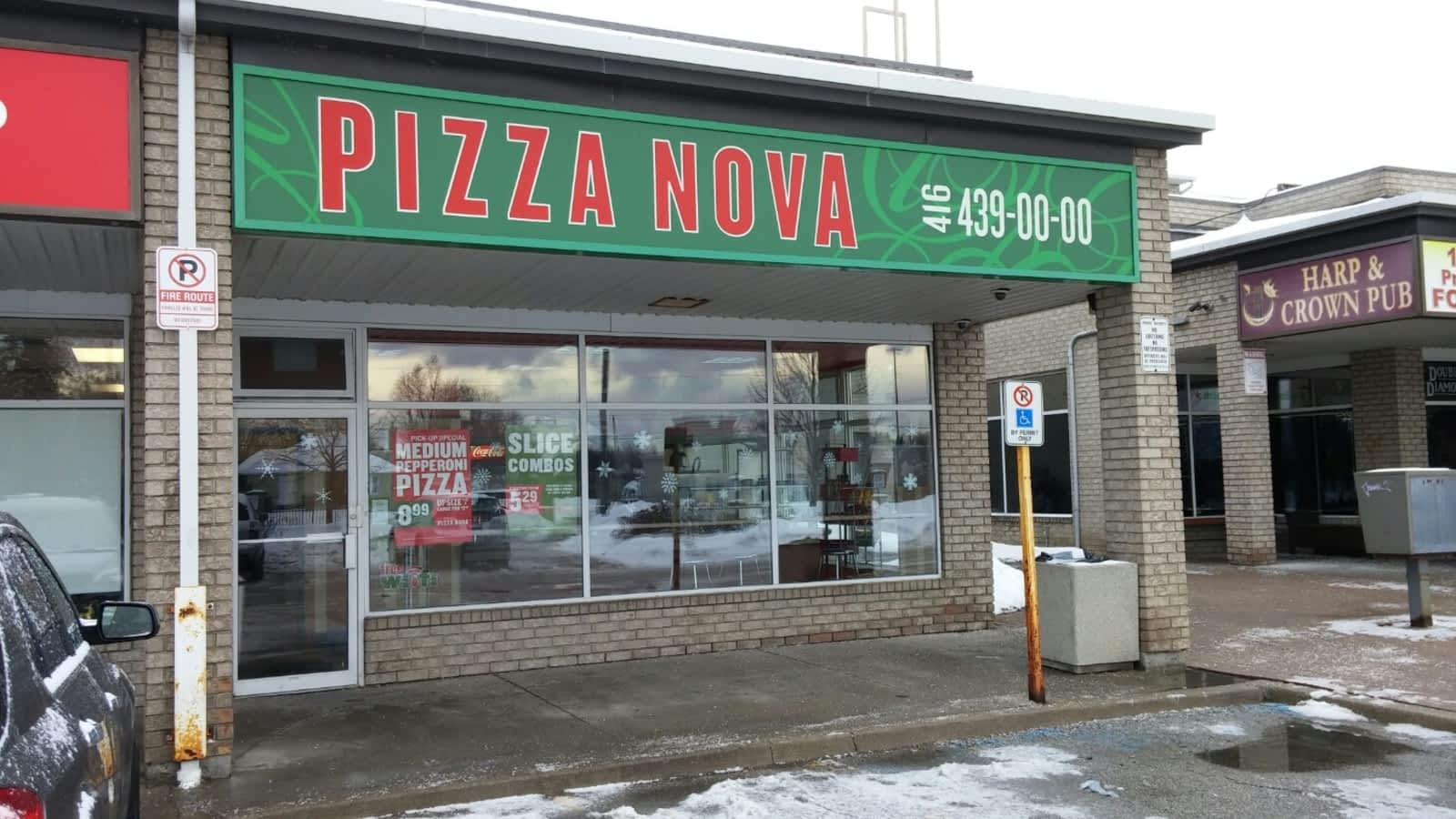 pizza nova opening hours 300 kingston rd pickering on. Black Bedroom Furniture Sets. Home Design Ideas