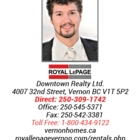Thor Royal LePage Realtor- Property Manager - Real Estate Agents & Brokers - 250-309-1742