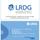 Language Research Development Group Inc - Language Courses & Schools