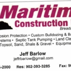 Maritime Construction Ltd - Excavation Contractors - 902-964-2000