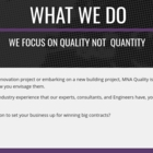 View MNA Quality Consulting's Calgary profile