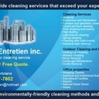 JDT - Entretien Ménager - Commercial, Industrial & Residential Cleaning - 514-570-3686