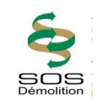 SOS Démolition - Logo