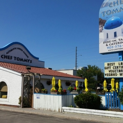 Chef Tommy's Greek Restaurant - Restaurants - 905-576-6003