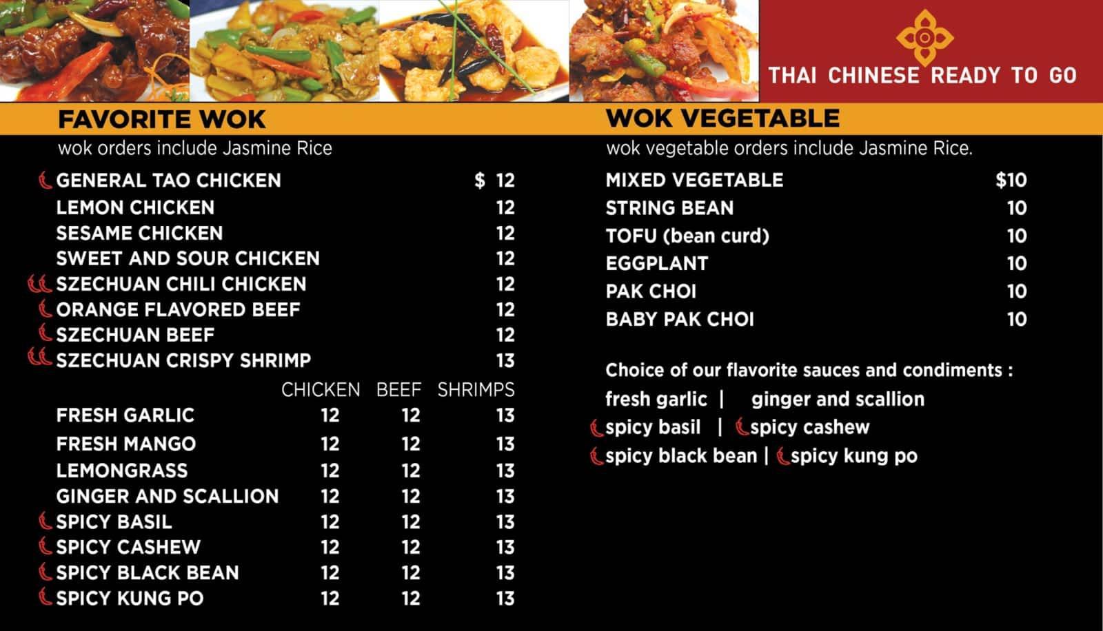 Thai Chi Asian Kitchen Menu Hours Prices 17 9750