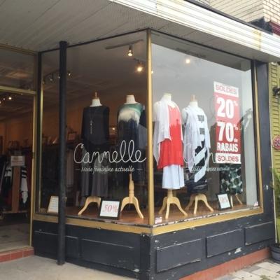 Boutique Cannelle Inc - Magasins de vêtements pour femmes