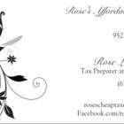 Voir le profil de Rose's Affordable Taxes - Iona